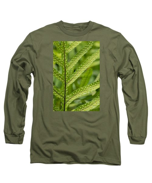Long Sleeve T-Shirt featuring the photograph Oh Fern by Christina Lihani