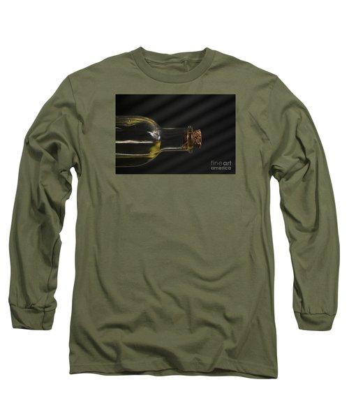 Oil Bottle Cork 1092a Long Sleeve T-Shirt