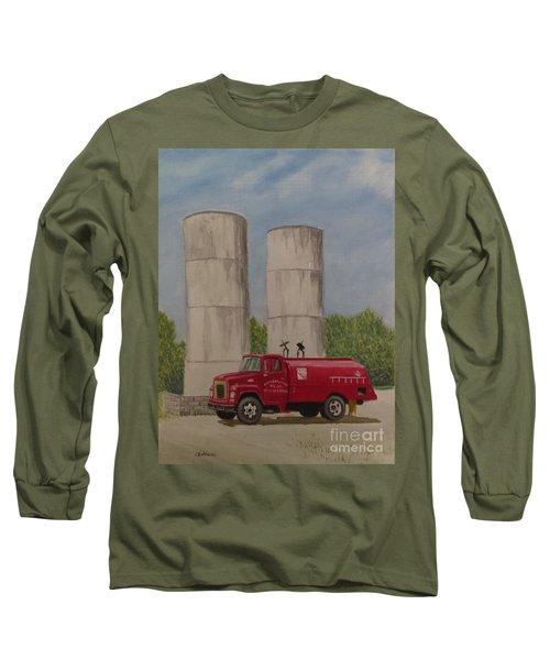 Oil Truck Long Sleeve T-Shirt