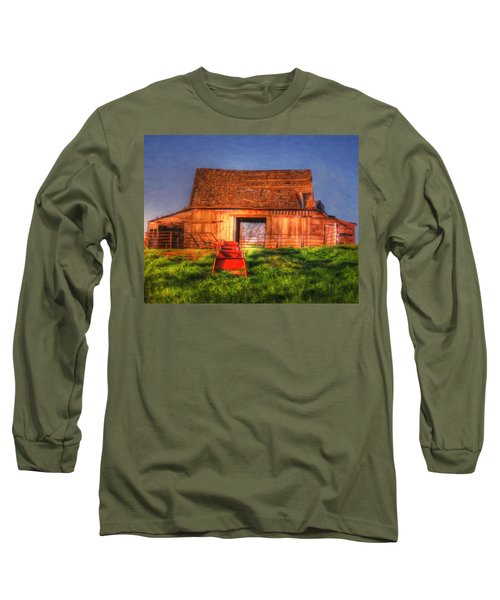 Oklahoma Barn Long Sleeve T-Shirt