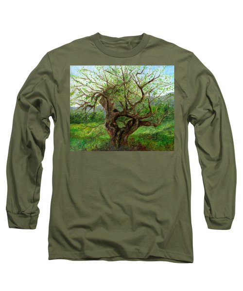 Old Apple Tree Long Sleeve T-Shirt