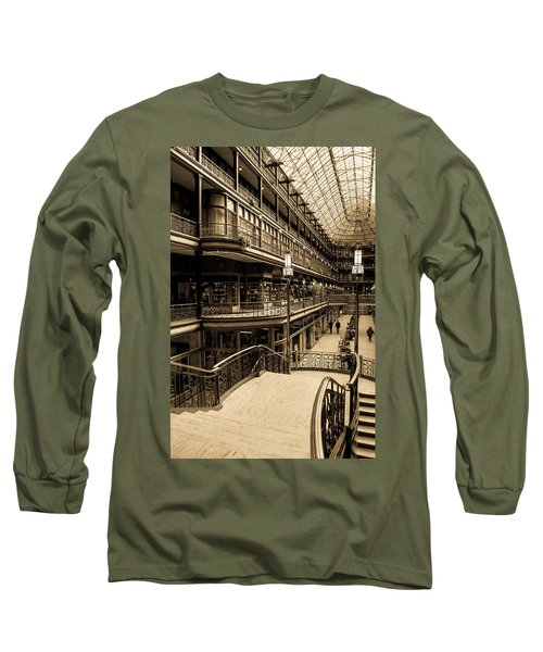 Old Arcade Long Sleeve T-Shirt