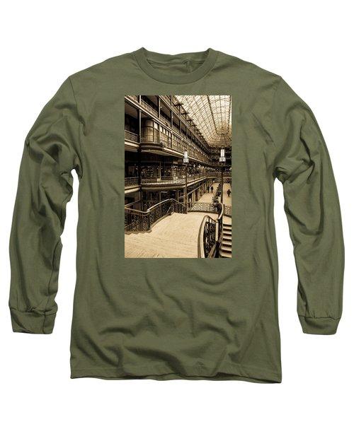 Old Arcade Long Sleeve T-Shirt