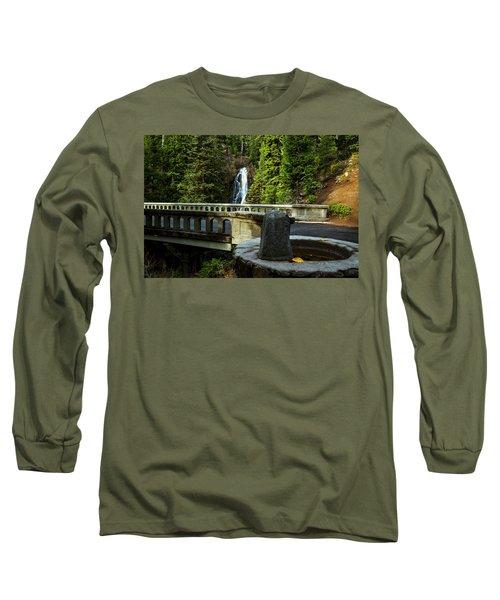 Old Barlow Road Bridge Long Sleeve T-Shirt