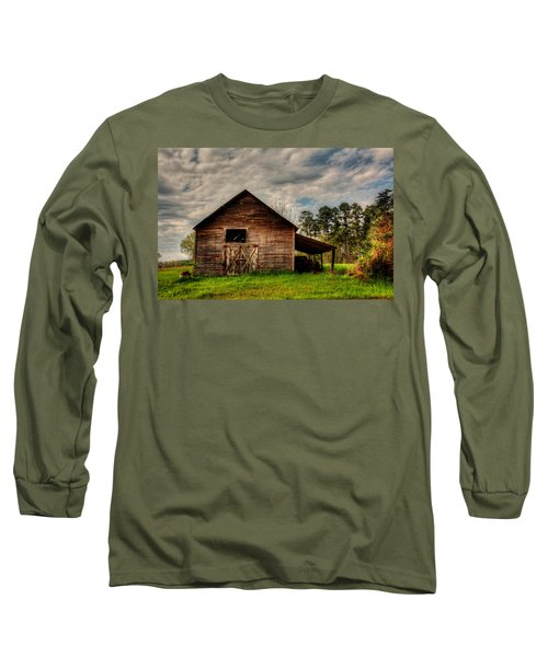 Old Barn Long Sleeve T-Shirt by Ester Rogers