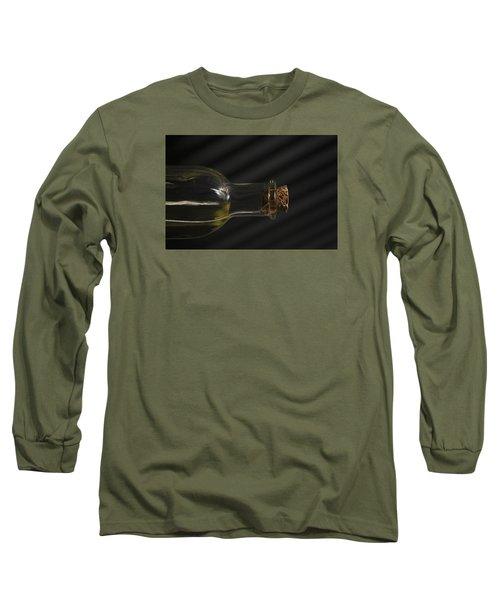 Old Bottle Cork 1092 Long Sleeve T-Shirt
