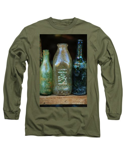 Long Sleeve T-Shirt featuring the photograph Old Bottles Hawaii by Craig Wood