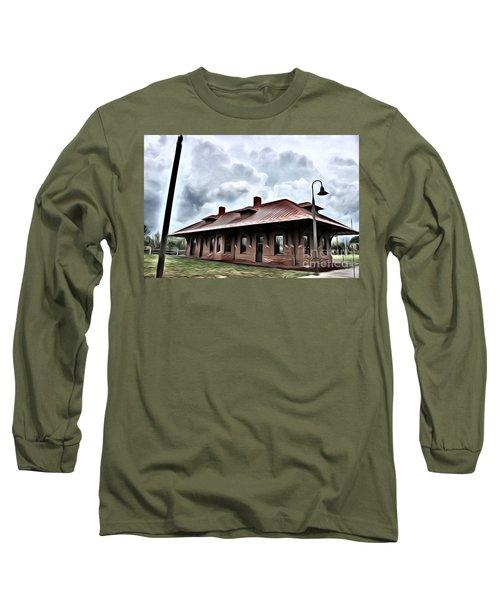 Old Burkeville Station Long Sleeve T-Shirt