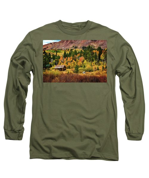 Old Cabin In Hope Valley Long Sleeve T-Shirt