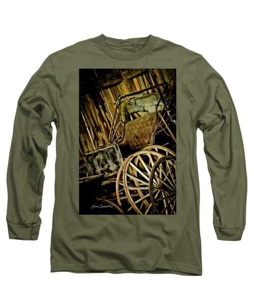 Long Sleeve T-Shirt featuring the photograph Old Carriage by Joann Copeland-Paul