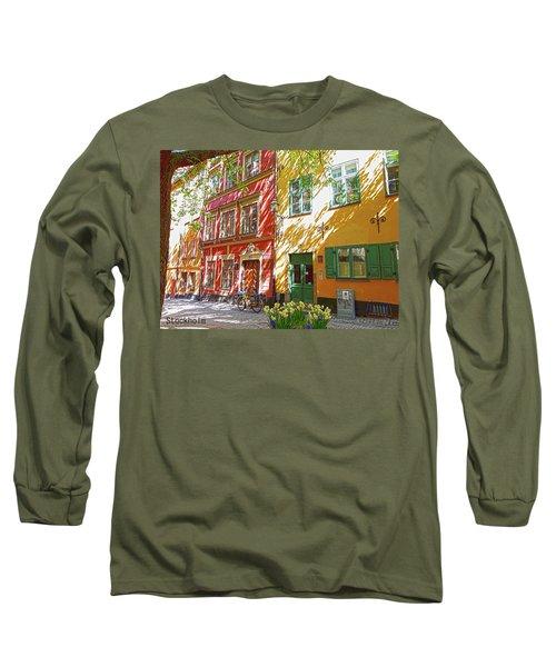 Old City Long Sleeve T-Shirt by Thomas M Pikolin