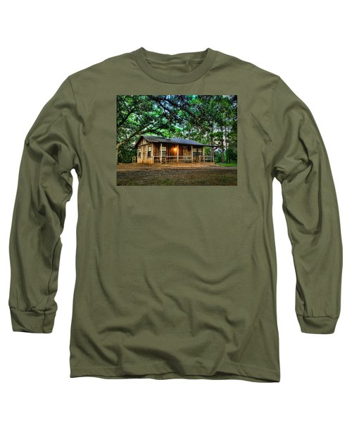 Old Country Cabin Long Sleeve T-Shirt