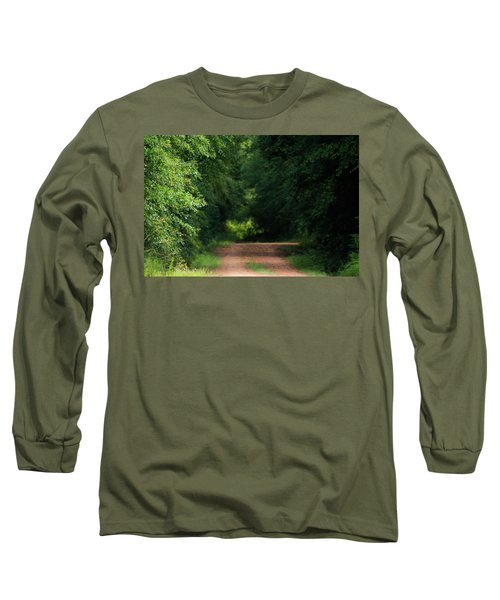 Long Sleeve T-Shirt featuring the photograph Old Dirt Road by Shelby Young