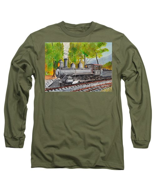 Old Engine 8 Long Sleeve T-Shirt