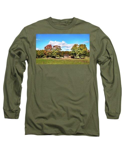 Old Farm House Long Sleeve T-Shirt