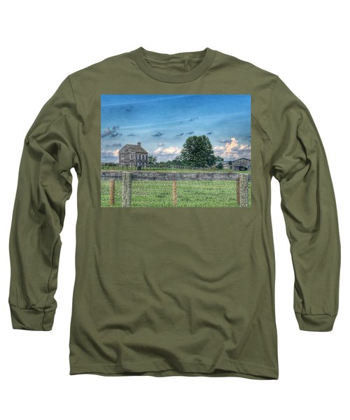 Old Farmhouse Long Sleeve T-Shirt