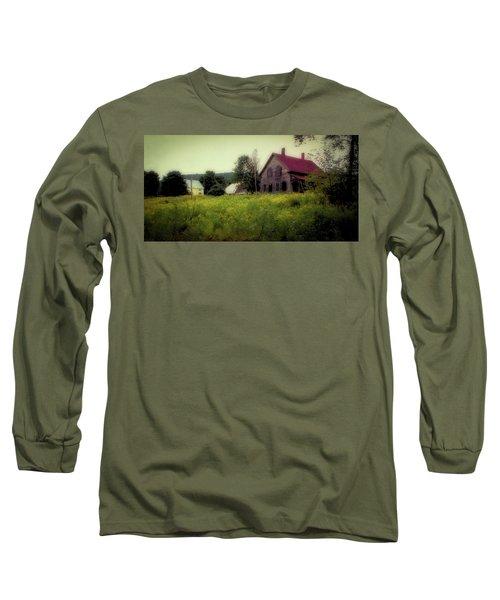 Old Farmhouse - Woodstock, Vermont Long Sleeve T-Shirt