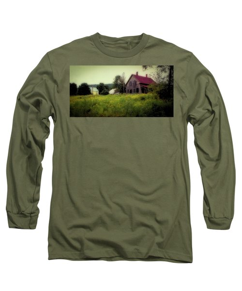 Old Farmhouse - Woodstock, Vermont Long Sleeve T-Shirt