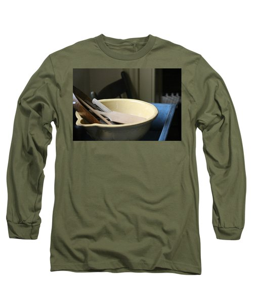 Old Fashioned Baking Tools Long Sleeve T-Shirt