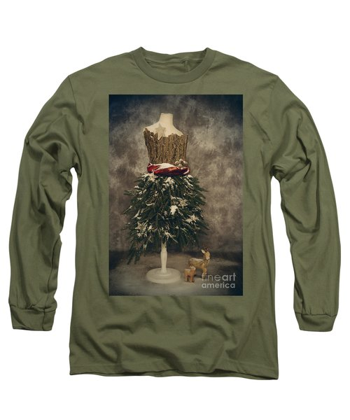 Old Fashioned Christmas Long Sleeve T-Shirt