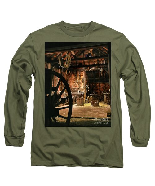 Long Sleeve T-Shirt featuring the photograph Old Forge by Tom Cameron