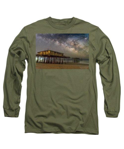 Old Frisco Pier Long Sleeve T-Shirt