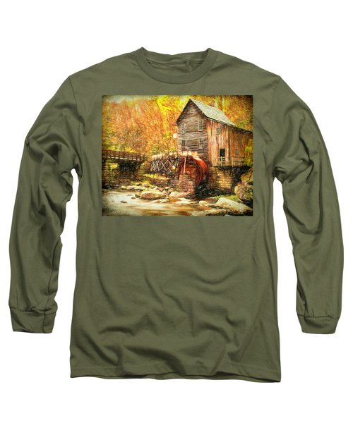 Old Grist Mill Long Sleeve T-Shirt