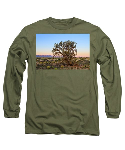 Old Growth Cholla Cactus View 2 Long Sleeve T-Shirt