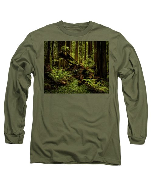 Old Growth Forest Long Sleeve T-Shirt