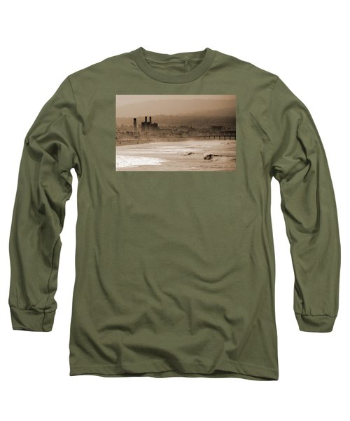 Old Hermosa Beach Long Sleeve T-Shirt