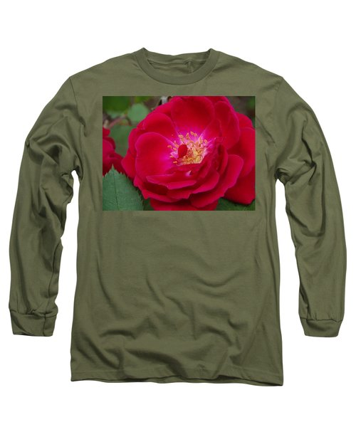 Old Homestead Rose Long Sleeve T-Shirt