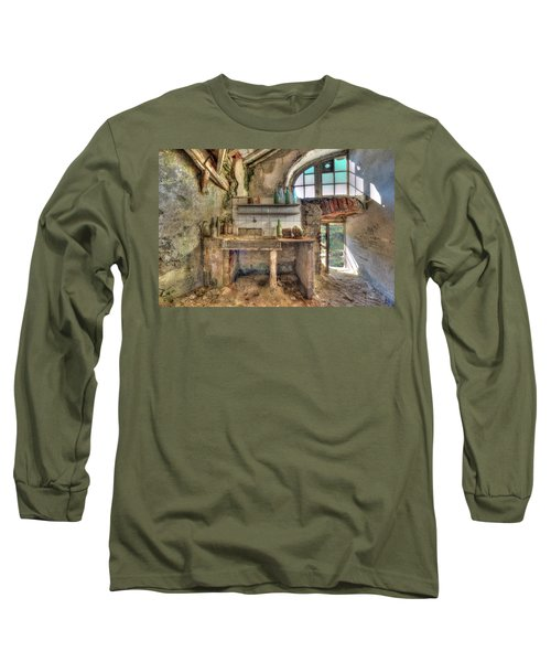 Old Kitchen - Vecchia Cucina Long Sleeve T-Shirt