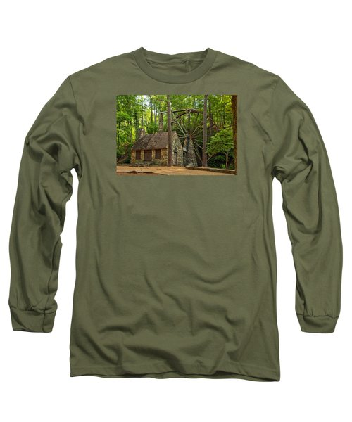 Old Mill At Berry College Long Sleeve T-Shirt