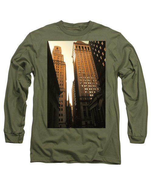 Old New York Wall Street Long Sleeve T-Shirt
