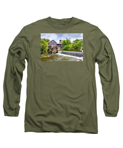 Old Pigeon Forge Mill Long Sleeve T-Shirt by Scott Hansen