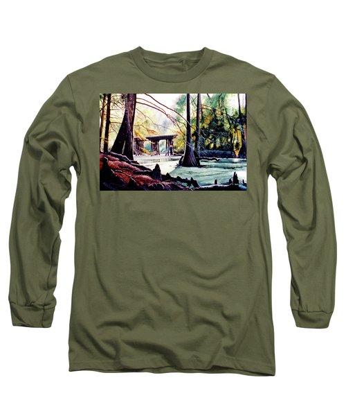 Old Railroad Bridge Long Sleeve T-Shirt