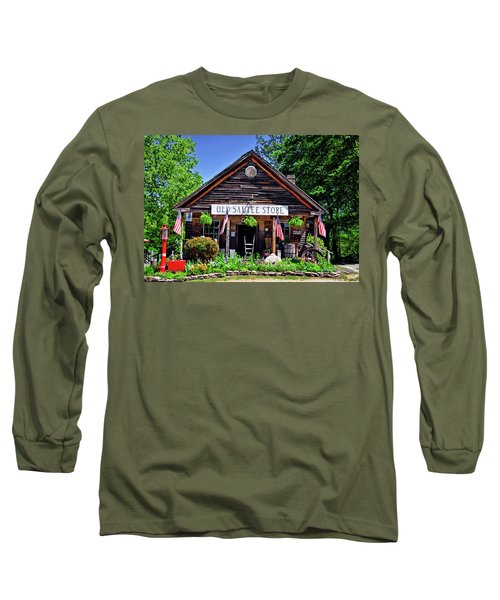 Old Sautee Store - Helen Ga 004 Long Sleeve T-Shirt by George Bostian