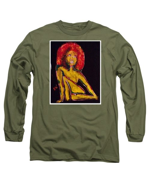 Old School  Long Sleeve T-Shirt by Deedee Williams