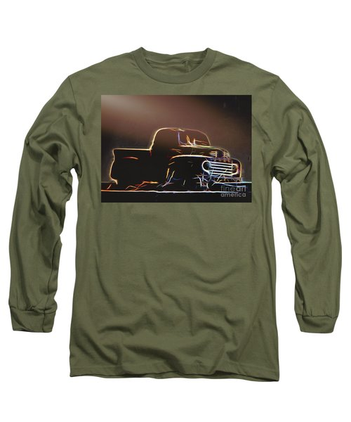 Old Sketched Pickup Long Sleeve T-Shirt