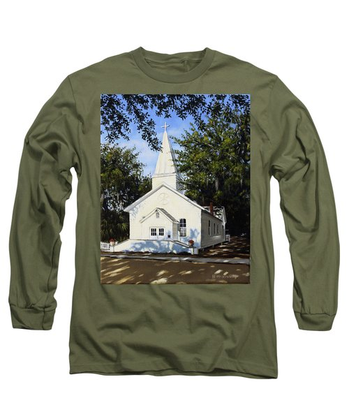 Old St. Andrew Church Long Sleeve T-Shirt by Rick McKinney