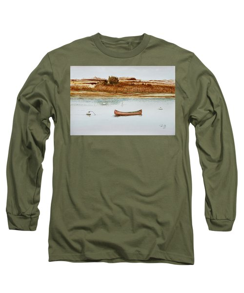 Old Town Canoe Menemsha Mv Long Sleeve T-Shirt