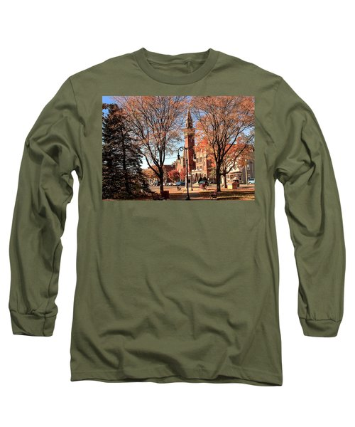 Old Town Hall In The Fall Long Sleeve T-Shirt
