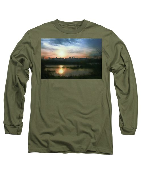 Old Town In Warsaw #18 Long Sleeve T-Shirt