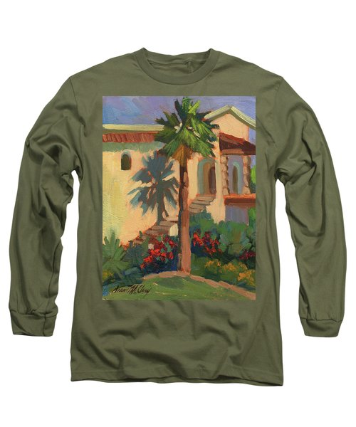 Old Town La Quinta Palm Long Sleeve T-Shirt
