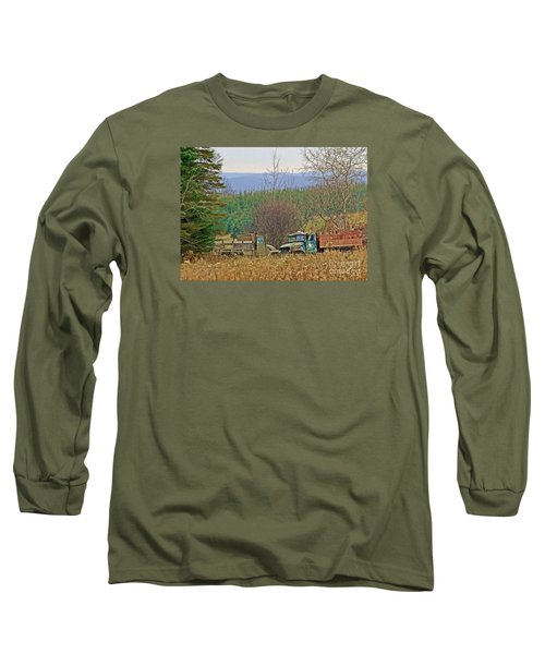 Long Sleeve T-Shirt featuring the photograph Old Warriors by Christian Mattison
