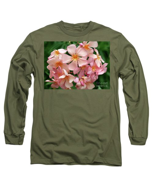 Long Sleeve T-Shirt featuring the photograph Oleander Dr. Ragioneri 3 by Wilhelm Hufnagl