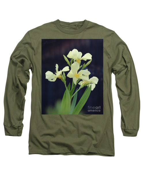 Long Sleeve T-Shirt featuring the photograph Oleander Marie Gambetta 2 by Wilhelm Hufnagl