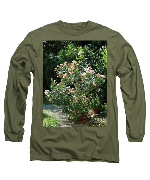 Oleander Petite Salmon 4 Long Sleeve T-Shirt by Wilhelm Hufnagl