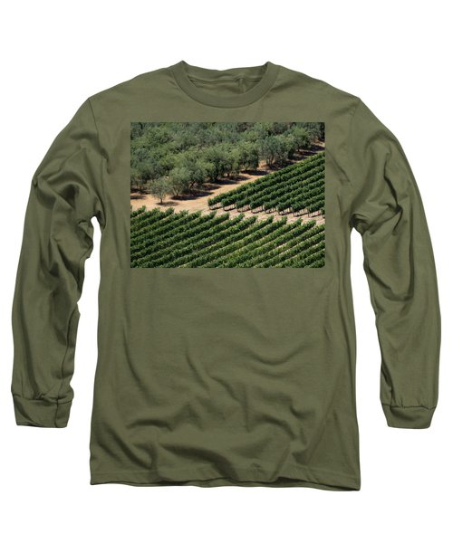 Olive Grove Meets Vineyard Long Sleeve T-Shirt