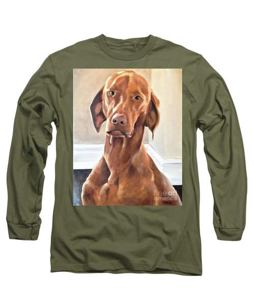 Oliver Long Sleeve T-Shirt by Diane Daigle